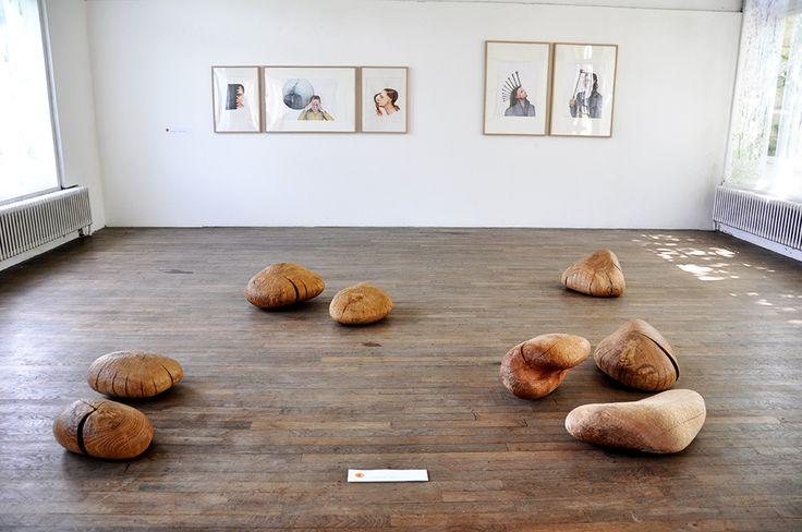 Pierre RABARDEL, sculpteur et Pascale RODARY, peintre. Galerie du K° à Huelgoat