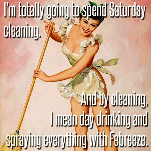 Saturday housecleaning hahahah