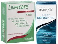 Detox is for those who feel tired and sluggish due to an unhealthy lifestyle. Livercare Tablets may be of benefit to people who regularly consume large amounts of alcohol or those not eating a healthy balanced diet. Livercare helps cleanse and detoxify the liver.