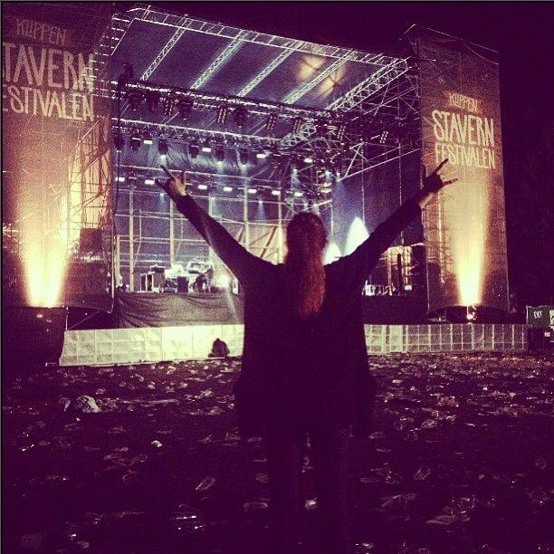 #stavernfestivalen#stavern2013#frivilig @eliseaurora - @veronicapaulsen- #webstagram