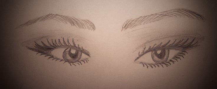 mysterious eyes drawing eyes by me ,briny
