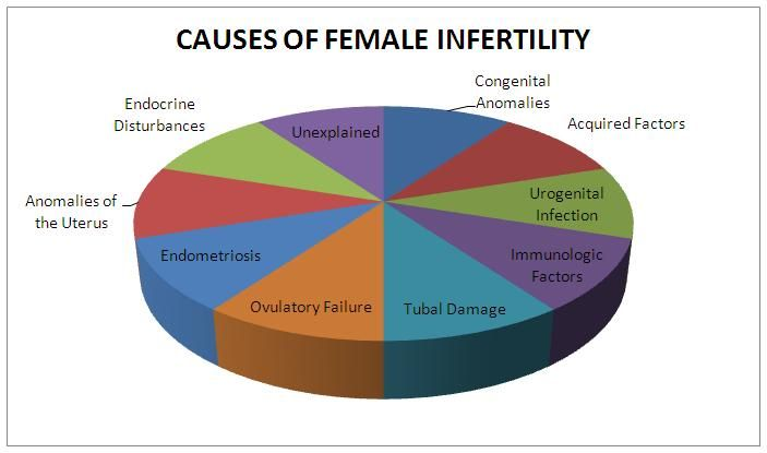 Female infertility causes - http://www.women-health-info.com/329-Female-infertility.html
