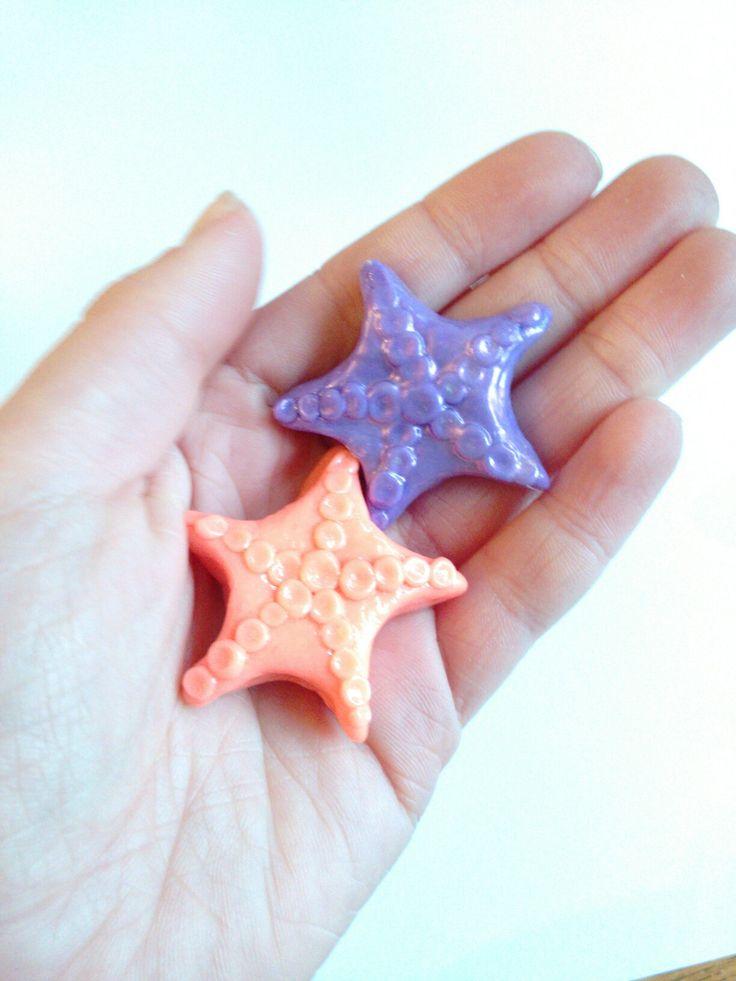 Polymer clay Star fish✨