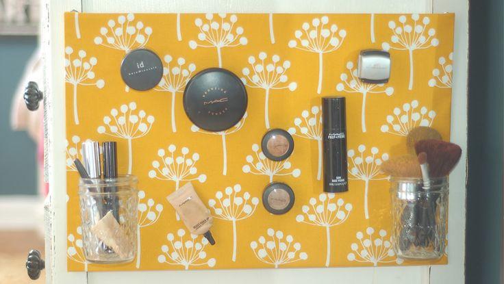 Les 25 meilleures id es concernant tableau de maquillage - Tableau magnetique pour photos ...