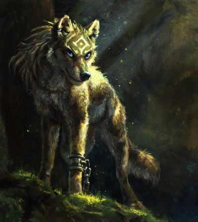 Wolf Link from Zelda Twilight Princess