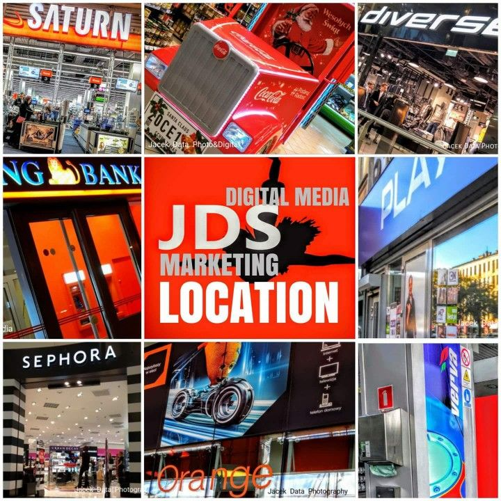 "JDS Location Marketing: ""One vision + One Logo""10 000 + Ideas, 50 000 000 views on traffic statistics   https://plus.google.com/+JacekData"