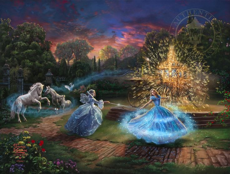Wishes Granted – Limited Edition Art | The Thomas Kinkade Company