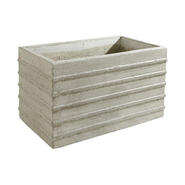 Les 25 meilleures id es de la cat gorie jardini res en ciment sur pinterest jardini res en - Jardiniere en ciment ...