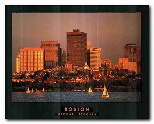 Boston City in Massachusetts Wall Décor Art Print Poster ... https://www.amazon.com/dp/B01LZDOT8E/ref=cm_sw_r_pi_dp_x_C.PRyb5JMK1BD