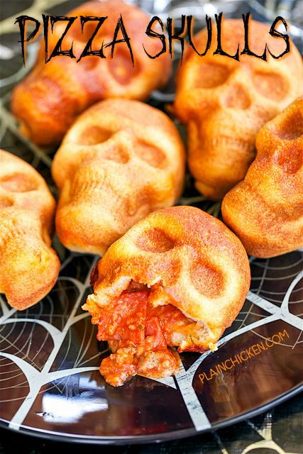 Pizza SkullsReally nice recipes. Every hour.Show me what you  Mein Blog: Alles rund um die Themen Genuss & Geschmack  Kochen Backen Braten Vorspeisen Hauptgerichte und Desserts # Hashtag
