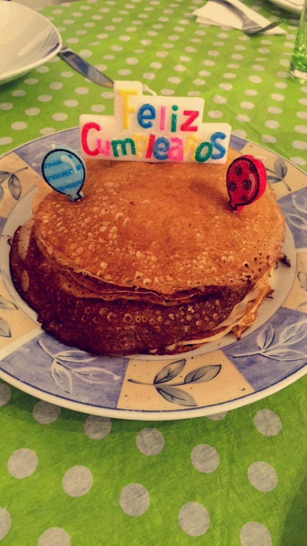 Mom's birthday breakfast