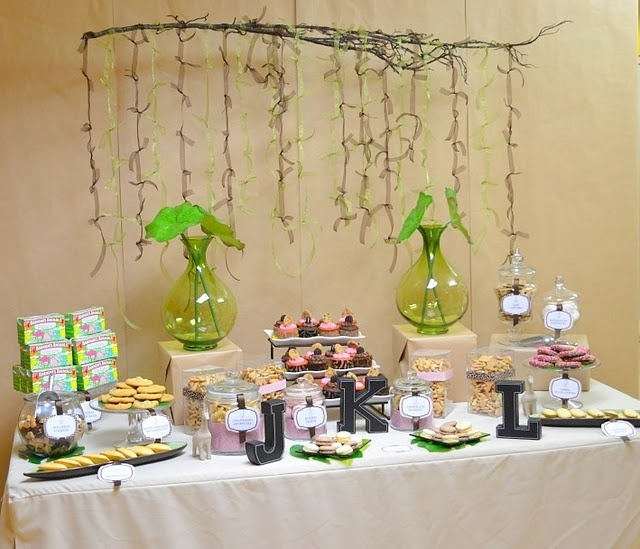 pink safari baby shower we like to party pinterest the ribbon