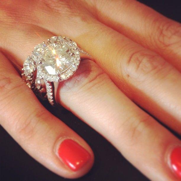This Is Too Bighahaha Just Kidding No Woman Has Wedding And Engagement RingsDiamond
