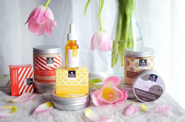 Flow cosmetics Flow kosmetiikan tuotteita Uusia Tuulia blogissa :)