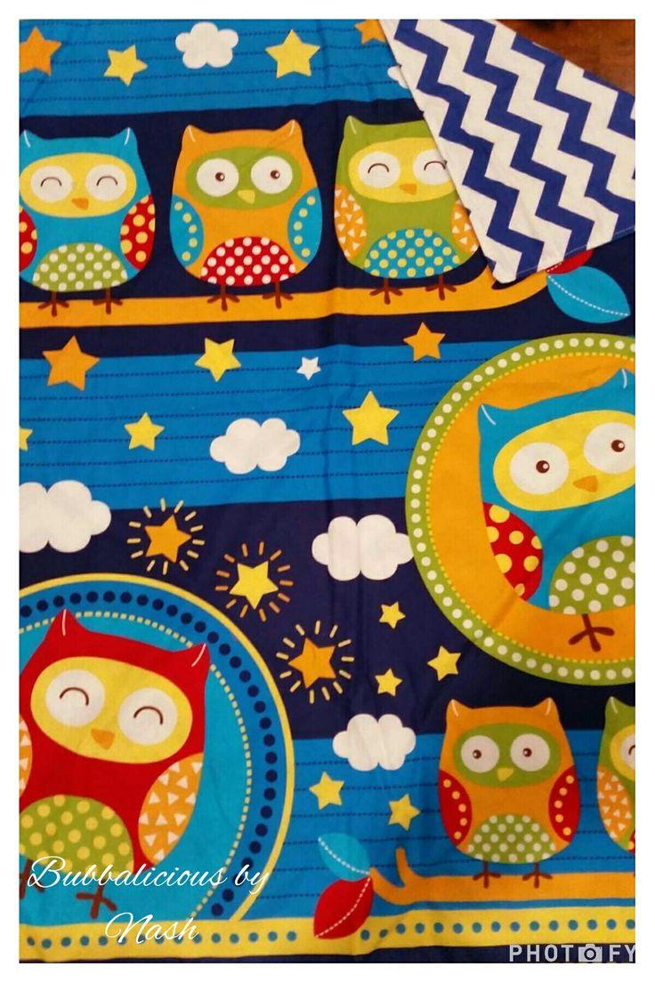 Handmade cot blanket