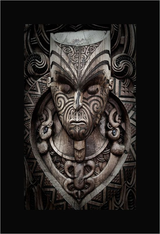 photo: Maori carving | photographer: Nikolai Vakhroushev