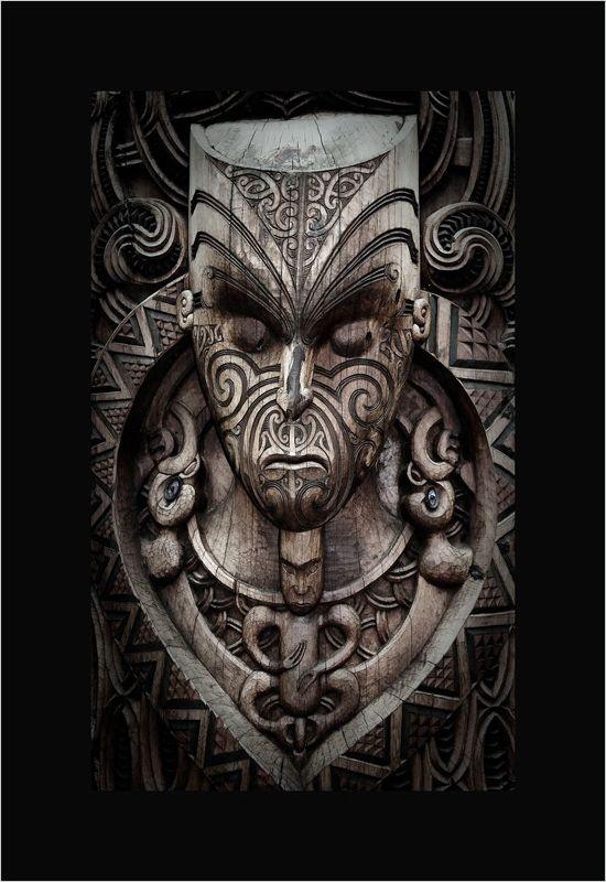 photo: Maori carving | photographer: Nikolai Vakhroushev …