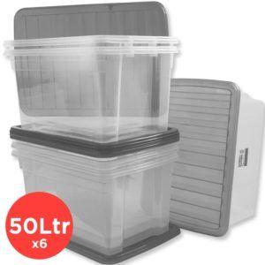 Plastic Storage Boxes Large 50ltr