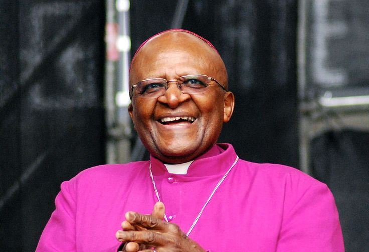Archbishop Desmond Tutu – South African anti-apartheid campaigner. He sought to heal wounds after the end of apartheid through the Truth and Reconciliation committee.