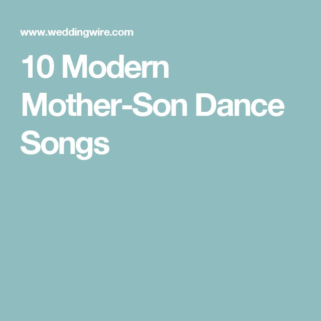 1000 Ideas About Mother Son Dance On Pinterest