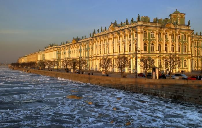 The Hermitage Museum, St. Petersburg, Russia.  I want to visit this city so badly I can taste it.