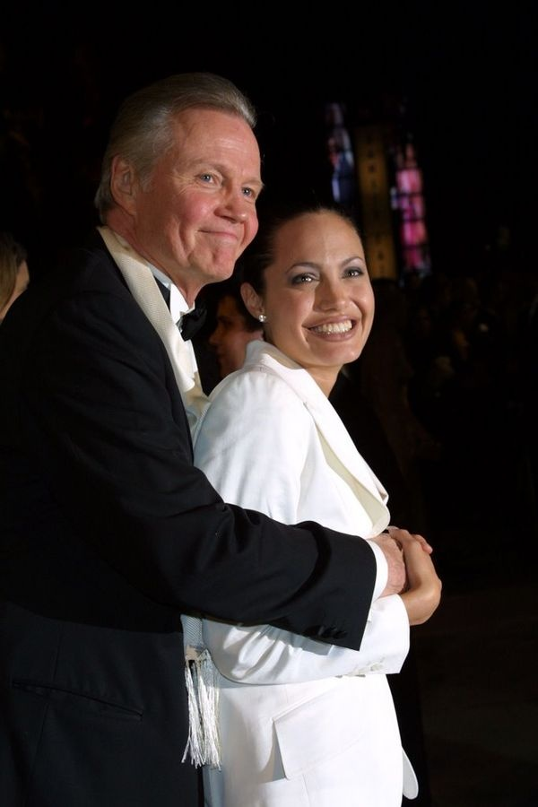 Father and Daughter: Jon Voight and Angelina Jolie