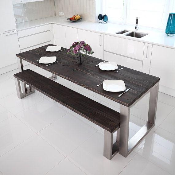best 10+ steel dining table ideas on pinterest   dining table