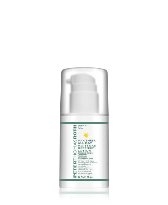 Peter Thomas Roth MAX SHEER ALL DAY MOISTURE DEFENSE® LOTION - TRAVEL SIZE - MSRP $31, paid $8.50 for 2