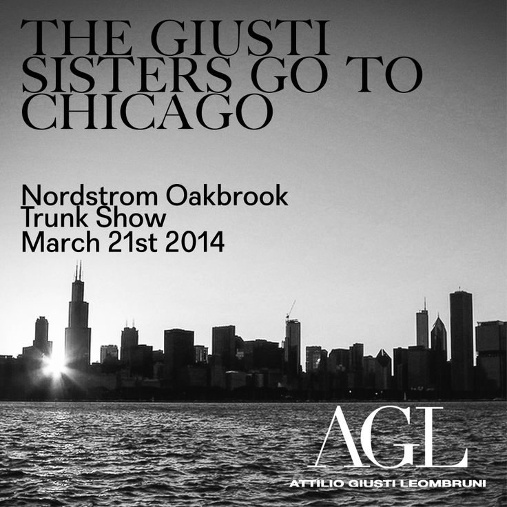 AGL trunkshow at Nordstrom Oakbrook. 2014 March 21