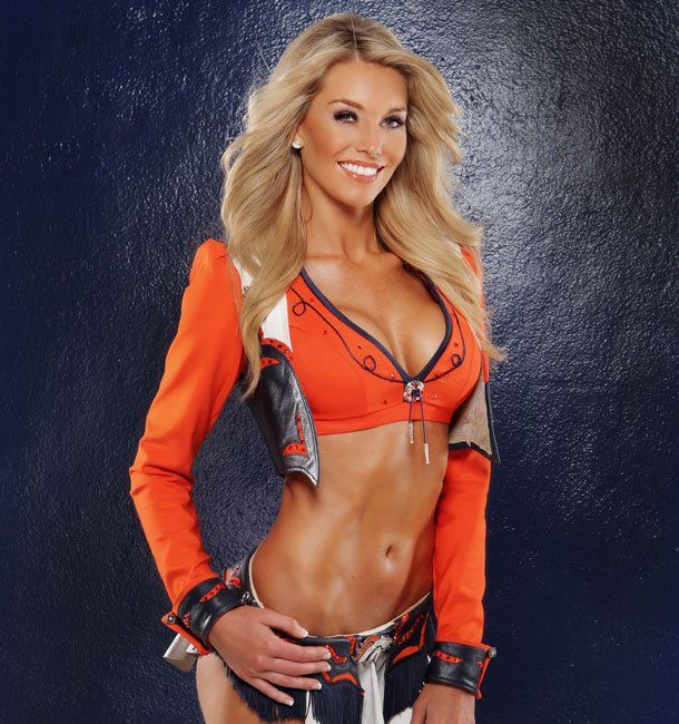 #5 Candace Denver Broncos Cheerleader (Hottest NFL Cheerleaders of 2012)