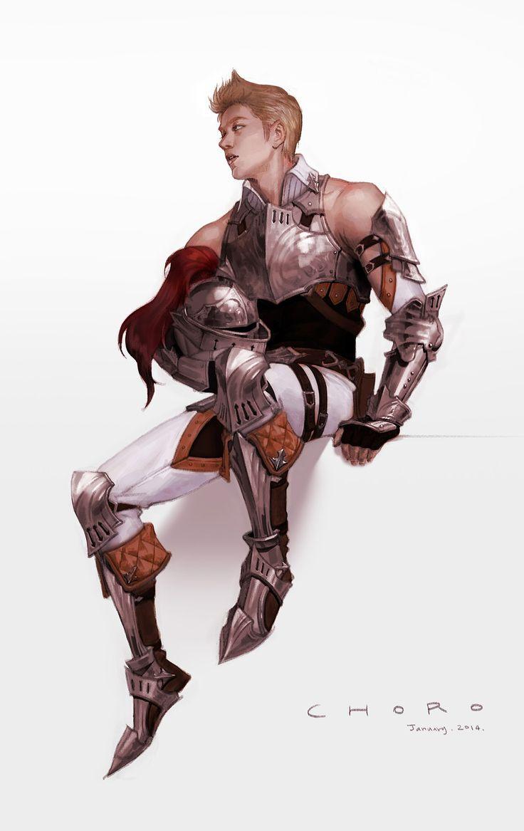 Knight, CHORO . on ArtStation at https://www.artstation.com/artwork/LaqXK