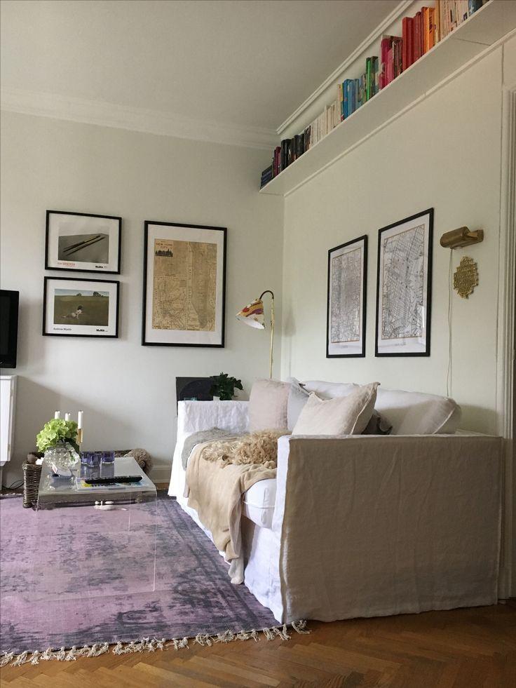 Linen sofa bemz