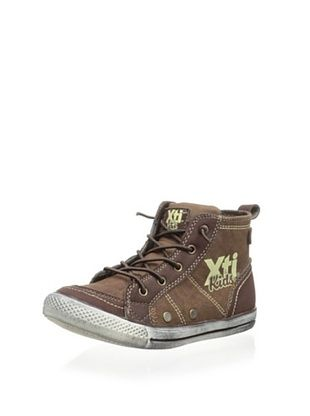 60% OFF XTI Kid's 52114 High Top Sneaker (Maroon)