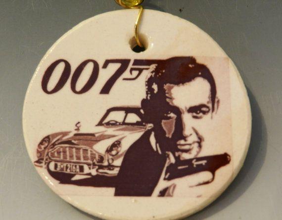 James Bond Christmas ornament $12 | Whoville & Snowflakes ...