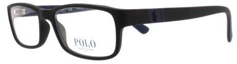 Polo Ralph Lauren Polo PH2154 Eyeglass Frames 5284-54 - Matte Black