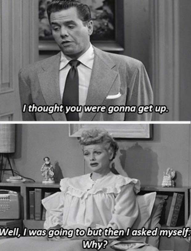 Lucy knows.