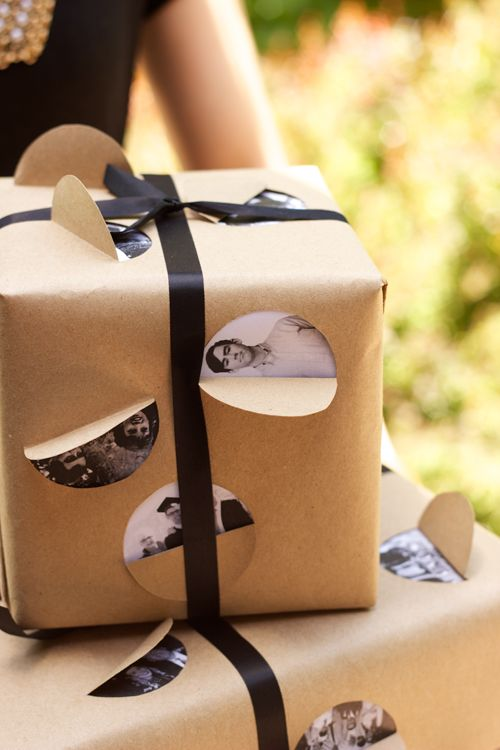 Graduation Gift Wrapping Ideas Part - 36: Picture Gift Wrap Idea - This One Is For Fatheru0027s Day - But Can Be Changed  Up For Any One And Any Occasion.