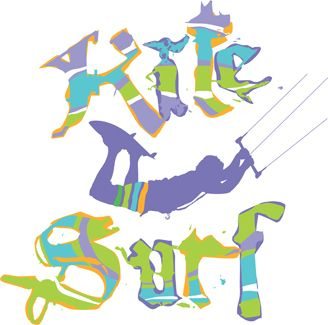 kitesurf t-shirt designs for printing t-shirts & fashion products. Download vector t-shirt designs.