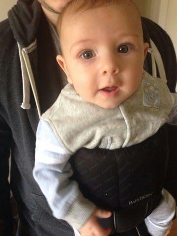 Tiny Baby Socks: REVIEW - Baby Bjorn Carrier Original