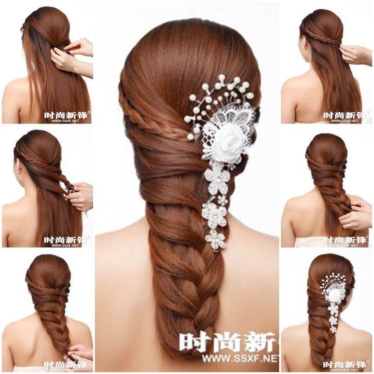 When I first saw this tutorial to make an asymmetrical braided hairstyle, I was amazed by how gorgeous this hairstyle looks. If you have long hair, definitely try this one! It is great for wedding ceremony or any evening party. You can also add some lace and beads ornaments to …