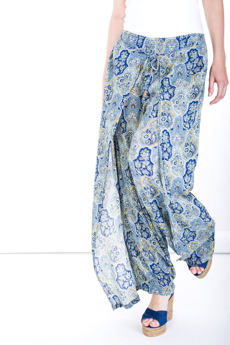 Prints #manzetti #mymanzetti #denimandsupply #pants #skirt #bottom #printed #blue #beach #summer #holiday #sale #rome