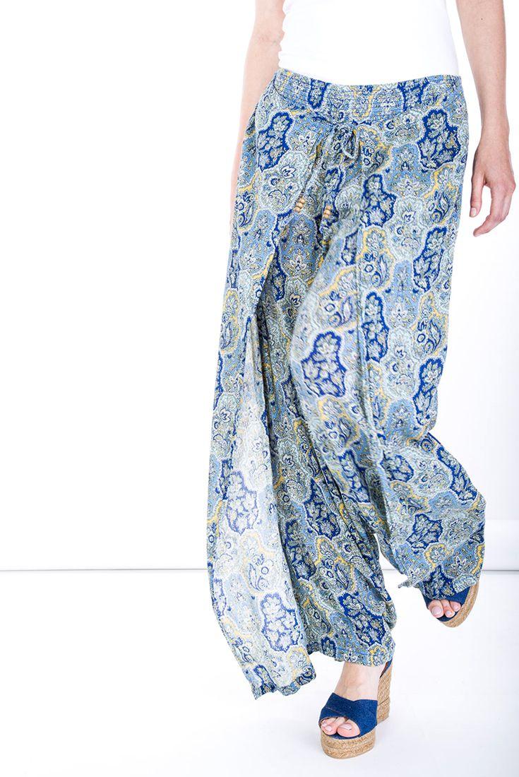 Prints #manzetti #mymanzetti #denimandsupply #pants #skirt #bottom #printed #blue #beach #summer #holiday #sale #rome