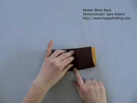 Blintz Base: Instructions   Happy Folding