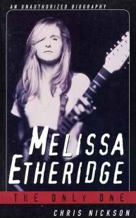 Chris Nickson's biography of Melissa Etheridge explores the pop star's life and music.< Chris Nickson has written biographies of Melissa Etheridge, Denzel Washington, Ewan McGregor, and Will Smith.< Melissa EtheridgeONEKansas is Middle America in more than name...more on boikeno.com