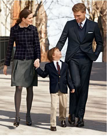My husbands/sons are going to be wearing Brooks Brothers all day/everyday....