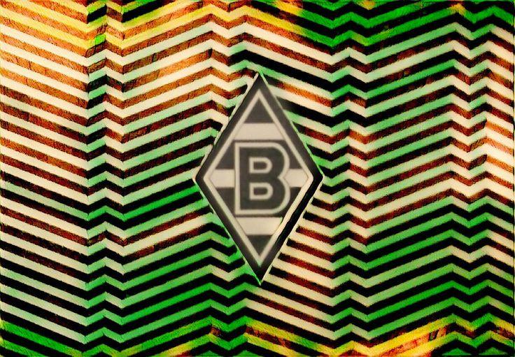 Borussia Monchengladbach logo efecto digital by carlossimio.deviantart.com on @DeviantArt