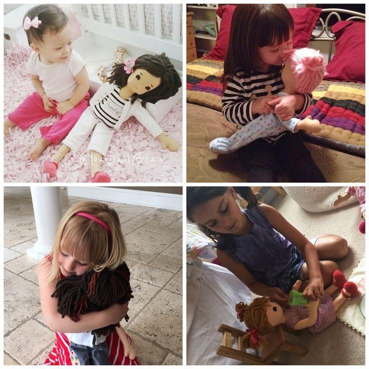Kids with dolls