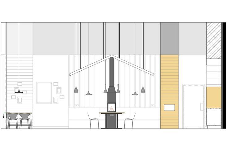 План современного дизайна кафе - Фото 2