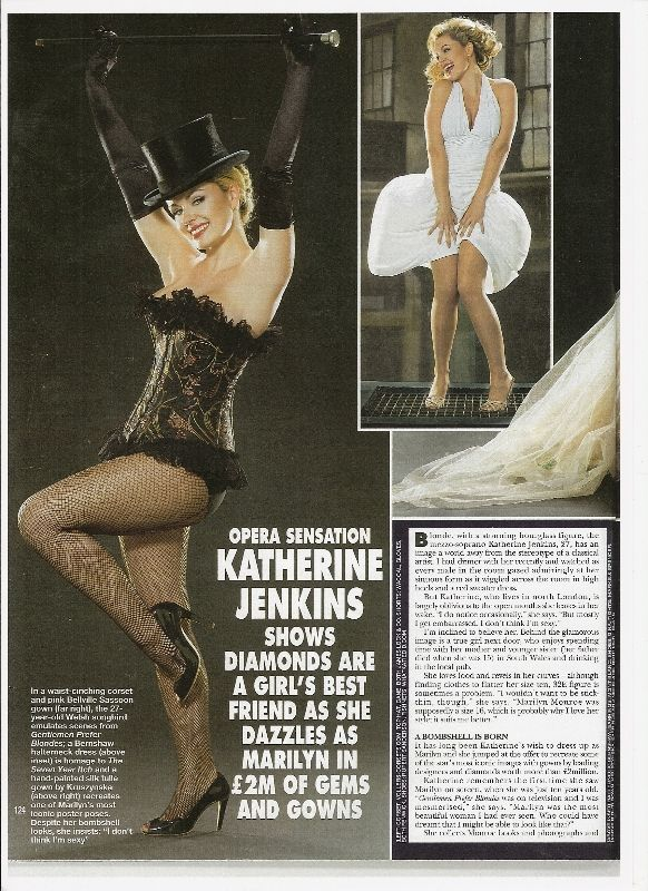 Katherine Jenkins in a Vollers Corset!