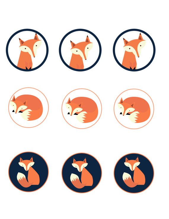1000+ images about Fox clip art on Pinterest | Trees ...